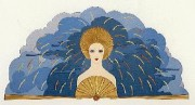 Storm1987 serigraph from the Storm & Harvest Suite by Erte