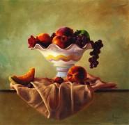 """""""Frutta Mista"""" giclee on canvas by Dario Campanile"""