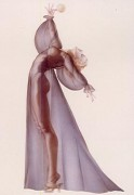 """Sheer Elegance"" Lithograph/Arches by Alberto Vargas"