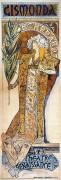 """Gismonda""  1896 by Alphone Mucha"