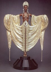 """Radiance"" Bronze Sculpture by Erte"