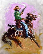 """West of Tombstone"" limited edition Giclee by Michael Bryan"
