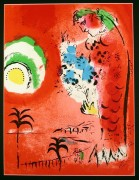 "Bay Of Angels For ""Chagall Lithographs"" Volume I, c. 1960"