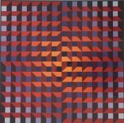 Untitled Serigraph by Victor Vasarely