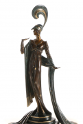 """Directoire"" Bronze Sculpture by Erte"