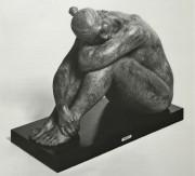 Mujer Sonando bronze sculpture by Armando Amaya