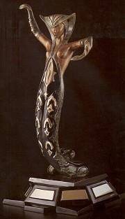 """""""La Jalousie"""" 1983 Bronze Sculpture by Erte"""