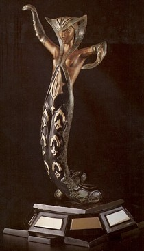 """La Jalousie"" 1983 Bronze Sculpture by Erte"