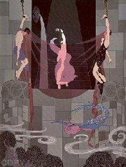 """The Chaste Susanna"" Serigraph on Paper by Erte"