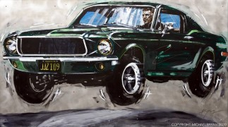 """Bullitt"" Giclee on Canvas, Paper or Aluminum by Michael Bryan"