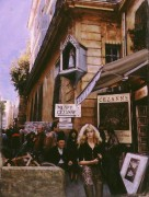 """On The Street: Aix"" Oil/Giclee/Paper by Adrian Deckbar"