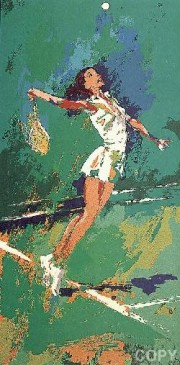 """Sweet Serve"" Serigraph by LeRoy Neiman"