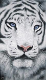 """Eyes of Wonder"" Hand-Textured Giclee on Canvas by Jon Rattenbury"