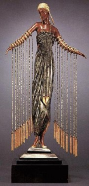 Zobeide bronze sculpture by Erte