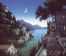 """""""Princess Kept The View"""" Lithograph by Jim Buckles"""