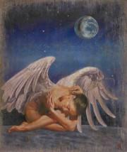 """Abesse"" Original Oil on Canvas by Tomasz Rut"