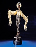 """Willow Tree"" Bronze Sculpture by Erte"
