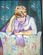 """""""Deja Vu"""" Original Oil on Canvas by Colleen Ross"""