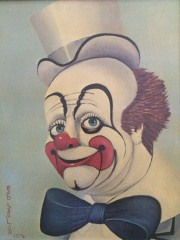 """Lord 'Elp Us"" Serigraph on Canvas by Red Skelton"