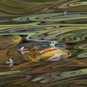 """""""Green River Series 7"""" Giclee on Canvas by AD Maddox"""