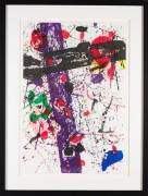 """""""Untitled"""" from Eight by Eight to Celebrate the Temporary Contemporary c. 1984 by Sam Francis"""