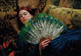 """Serenity"" Digital Pigment Print on Archival Canvas by Douglas Hofmann"