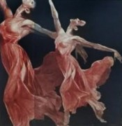 """""""Red Dress"""" Mezzotint by G. H. Rothe"""