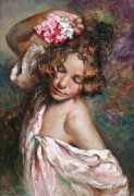 """Presumida"" Original Oil on Canvas by Royo"