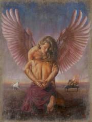 """Ad Ultro II"" Original Oil on Canvas by Tomasz Rut"