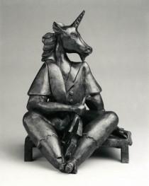 The Unicorn sculpture by Alexandra Nechita