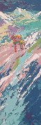 """Downhill Skier"" Serigraph by LeRoy Neiman"