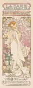 """""""La Dame Aux Camelias"""" 1898 by Alphonse Mucha"""