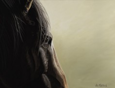 """""""Mustang Series 2"""" Giclee on Canvas by AD Maddox"""