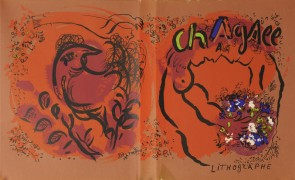 "Cover For ""Chagall Lithographs"" Volume I, c 1960"