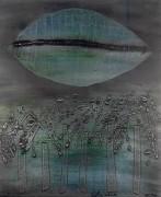 """Aeolion Winds"" Original Mixed Media/Aluminum by Sica"