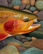 """""""Golden Catch"""" Limited Edition Giclee on Paper by AD Maddox"""