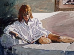 """Skylight"" Giclee/Canvas by Aldo Luongo"