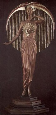 """Le Soleil"" Bronze Sculpture by Erte"