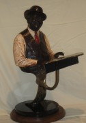 """""""Fats Waller"""" Bronze Sculpture by Ed Dwight"""