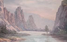 """Untitled"" Original Oil on Canvas by Marshall Merritt"