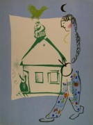 "Our House In My Village For ""Chagall Lithographs"" Volume I, c. 1960"