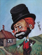 """Freddie's Shack"" Serigraph by Red Skelton"
