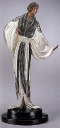 """Belle de Nuit"" Bronze Sculpture by Erte"