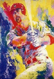"""Mark McGwire"" Serigraph by LeRoy Neiman"