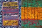 """Blues For Windows"" & ""Paladin"" 2 Serigraphs by Mark Erickson"