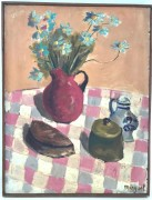 """""""Fleurs Estivales"""" Original Oil on Canvas by Alexandre Minguet"""