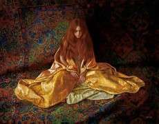 """Alchemy"" digital pigment print on archival canvas by Douglas Hofmann"