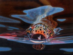 """""""Snack"""" Giclee on Canvas by AD Maddox"""