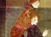 """Masquerade"" Serigraph on Canvas by Joanna Zjawinska"