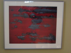 """Red Barn"" Cibachrome by Cole Weston"
